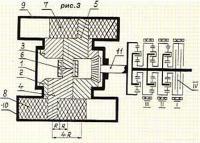 Рис. 3. Вариант конструкции двигателя по патенту РФ №1771513