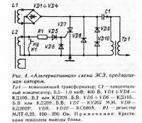 Рис. 4. «Альтернативная» схема ЭСЗ, предлагаемая автором