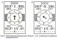 "Рис. 5. Навигационная страница типа ""Компас"""