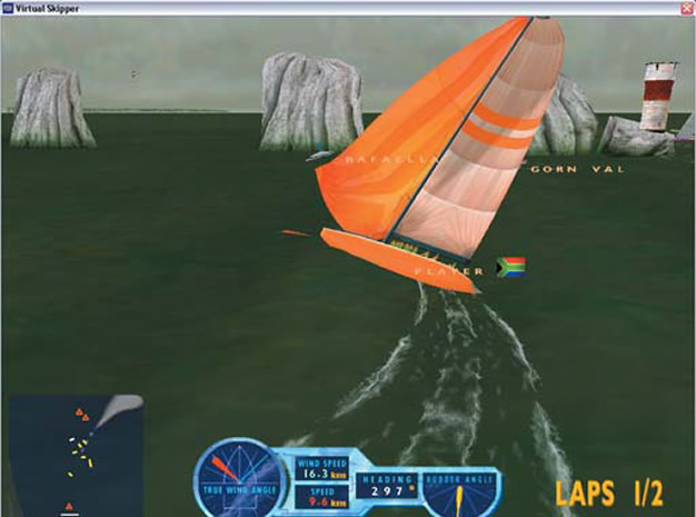 virtual skipper 3 / virtual skipper 3: парусная регата [новый диск] [rus]