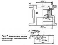 Рис. 7. Средняя часть картера подготовлена к установке дисков