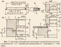 Рис. 7. Заготовка обечайки для прокладки головки блока