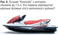 """Рис. 8. Лучший """"Kawasaki"""" с мотором объемом до 1.5 л."""