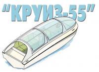 Рисунок катера Круиз-55