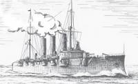 Рисунок корабля (автор А. Карелов)