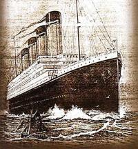 Рисунок «Титаника»
