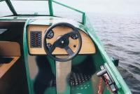 Рулевое управление катера