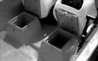Рундуки под сиденьями