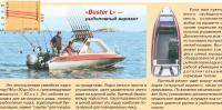 Рыболовный вариант мотолодки «Buster L»