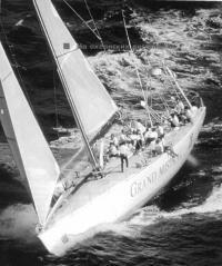 Самая крупная в истории паруса яхта-монотип