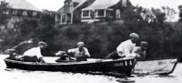 Самая первая в мире любительская гонка лодок с подвесными моторами, 1923 г.