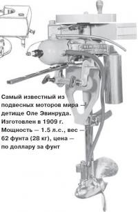 Самый известный из подвесных моторов мира — детище Оле Эвинруда