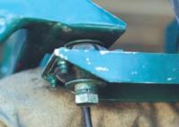 Сайлентблок крепления мотора