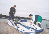 Сборка лодки Yamaran В380