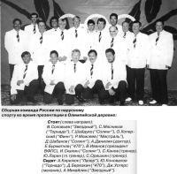 Сборная команда России по парусному спорту
