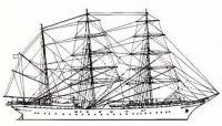 Схема барка «Товарищ»