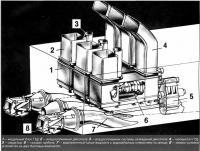 Схема двигателя