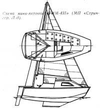 Схема мини-яхточки «ТИМ-435»