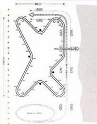 Схема утвержденной УИМ 3500-метровой трассы