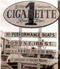 """""""Сигаретт"""" — реклама известнейшей верфи Аронау"""