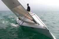 Сильный крен яхты «JS9000»