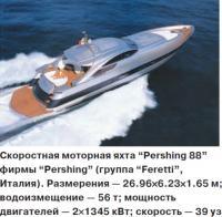 """Скоростная моторная яхта """"Pershing 88"""""""