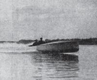 """""""Ской"""" — катер Л. Нобеля. Фото из журнала """"Рулевой"""" №6, 1913 г."""