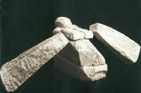 Скульптура каменного гребца