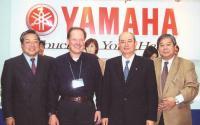 Слева направо: Ник Шибата, Андрей Великанов, Тору Хасегава, Татэо Мацумото