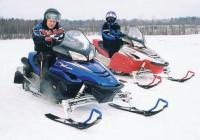 """Снегоходы """"RX Warrior"""" и """"RX-1 ER"""""""