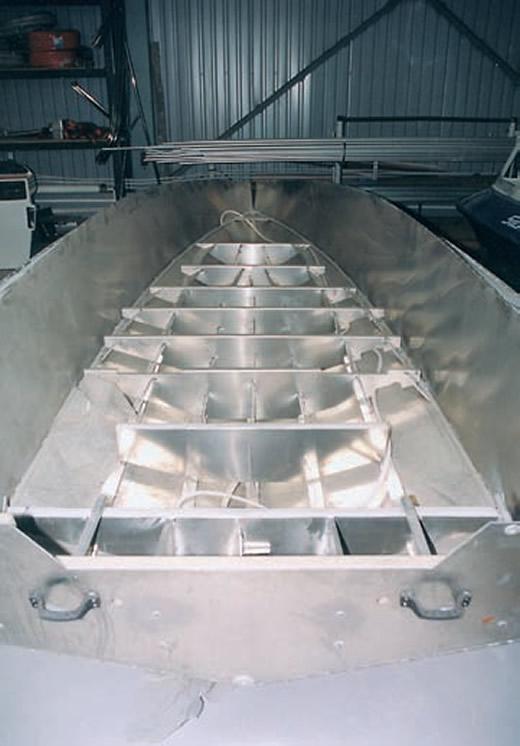 Собранный алюминиевый корпус