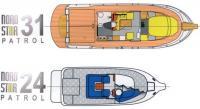 Сравнение размеров катеров