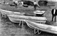 Стеклопластиковые лодки МП «Ахто»