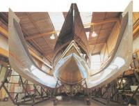 Стеклопластиковый корпус судна