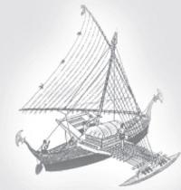 """Тихоокеанский """"морской каяк"""" - прототип современных парусных тримаранов"""