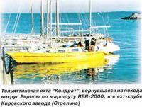 Тольяттинская яхта