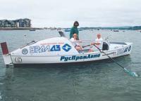 Торжественный спуск лодки на воду 1 августа