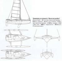 Тримаран по проекту