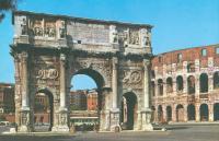 Триумфальная Арка Константина возле Колизея