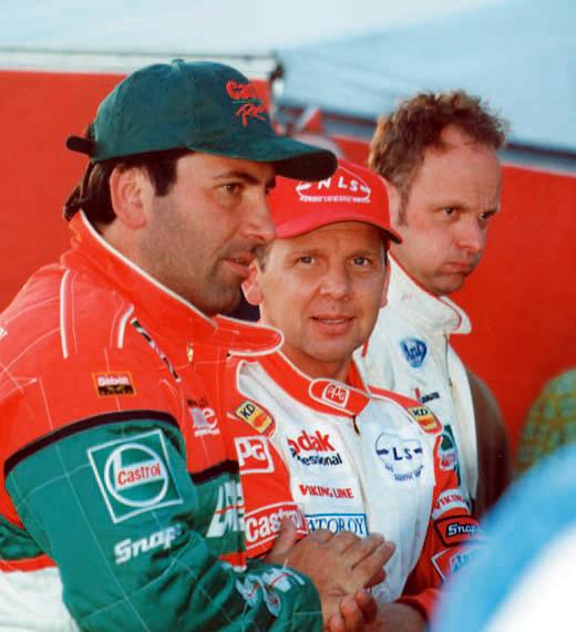 Тройка сильнейших гонщиков питерского этапа: Капеллини, Леппала и Джонс