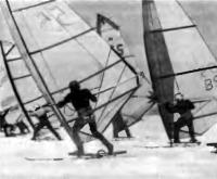 Участники соревнования на дистанции