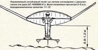 Управляемый устойчивый полет на легком катамаране с дельтапланом
