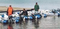 В испытвниях учествовали множество лодок и моторов