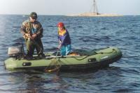 В основном лодки Лидер покупают для рыбалки