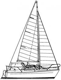 Внешний вид и парусность яхты «Минимо»