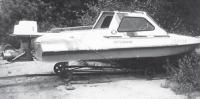 Внешний вид лодки Обь-М