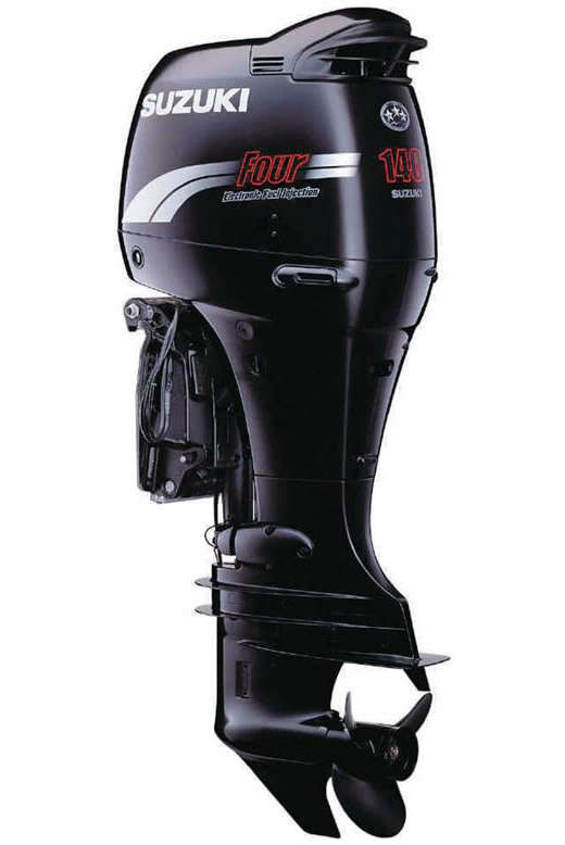 Внешний вид подвесного мотора «Suzuki» DF140