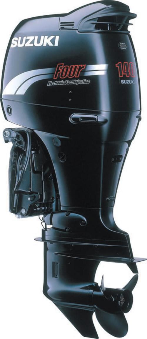 Внешний вид подвесного мотора «Suzuki DF140»