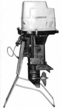Внешний вид подвесного мотора