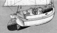 Внешний вид яхты «Тэбби Кэт»